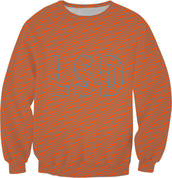 Red Optical Illusion LSD - Sweatshirt