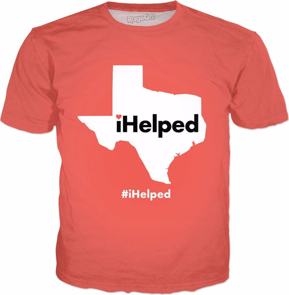 iHelped Peach T-Shirt