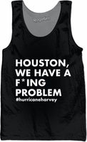 Houston We Have a Problem Black Tank Top