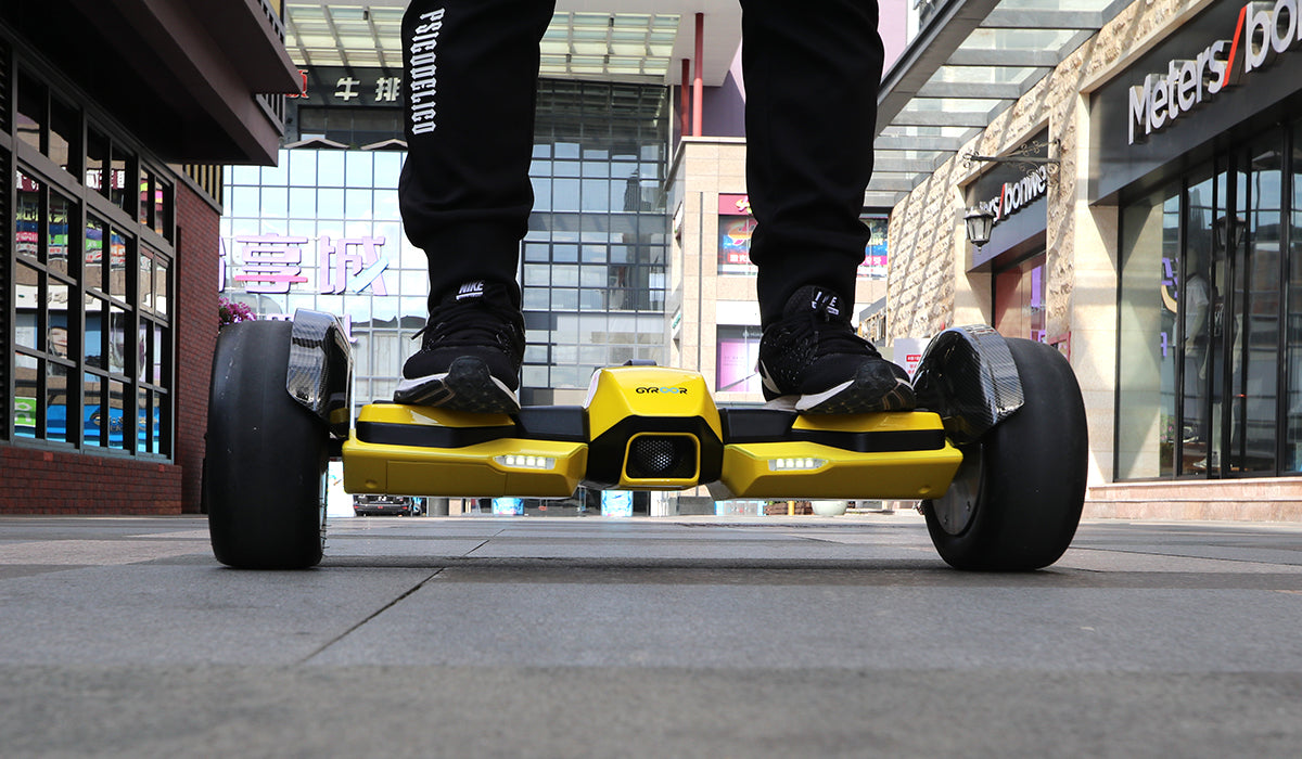 Gyroor F1 Hoverboard Yellow