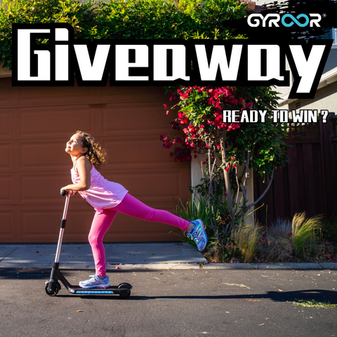 Gyroor H30 Electric Scooter Giveaway Again