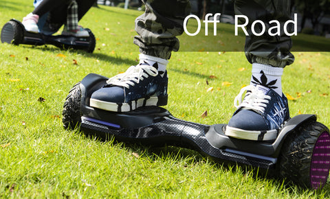 off road hoverboard with bluetooth
