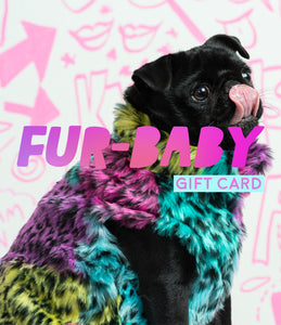 Fur Baby Gift Card
