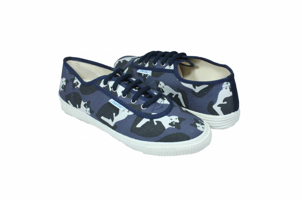 Startas Here Kitty canvas sneakers
