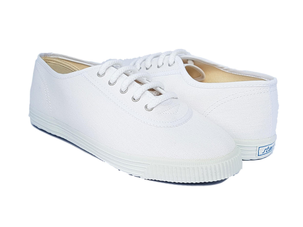Startas basic white canvas sneaker
