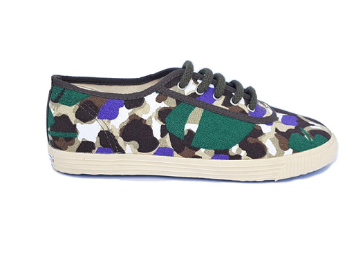 Startas Dark Jungle canvas vegan sneaker