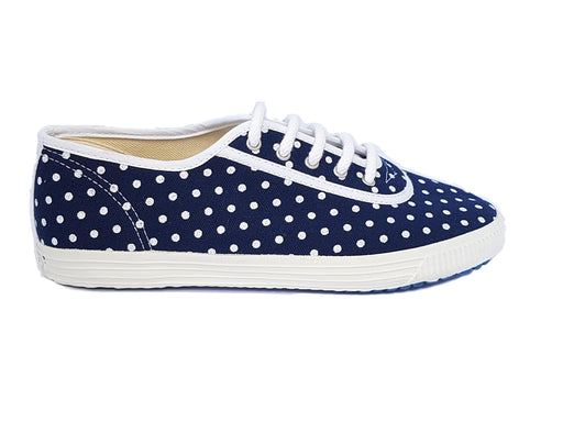 Startas polka dot vegan canvas sneaker