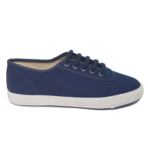 Startas basic blue canvas sneaker vegan
