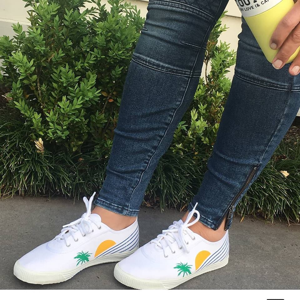 Startas Summer canvas vegan sneaker