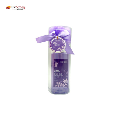 Bath Deluxe Little Orchid Bottle 500ml (cylinder pvc)