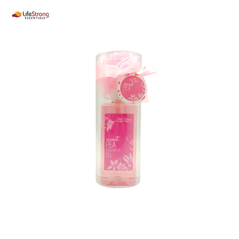 Bath Deluxe Sweet Pea bottle 500ml cylinder pvc