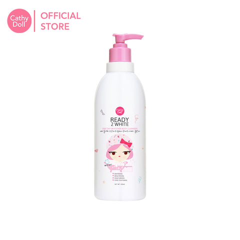 Cathy Doll Ready 2 White One Day Whitener Body Cleanser 450ml