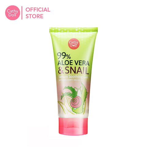 Cathy Doll Aloe Vera & Snail Serum Soothing Gel 175g