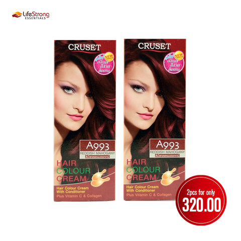 Cruset Hair Colour Cream 120ml - Reddish Mahogany