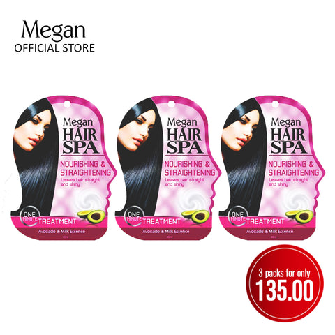 Megan Hair Spa 40ml - Nourishing & Straightening
