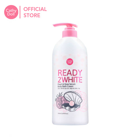 Cathy Doll Ready 2 White Pearl & Rose Serum Body Bath Cream