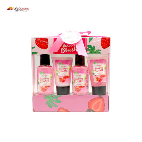 Skin Nature Strawberry Blush Giftset with 4 Bottles