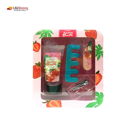 Skin Nature Strawberry Blush Giftset with Nail Cutter