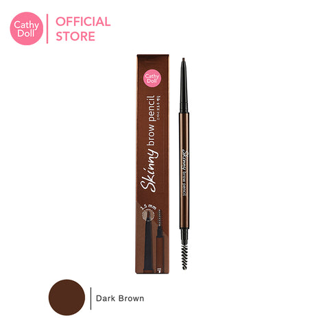 Cathy Doll Skinny Brow Pencil #02 Dark Brown