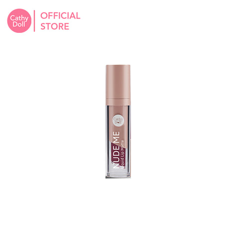 Cathy Doll Nude Me Liquid Lip Matte 4ml - 09 Burgundy Red