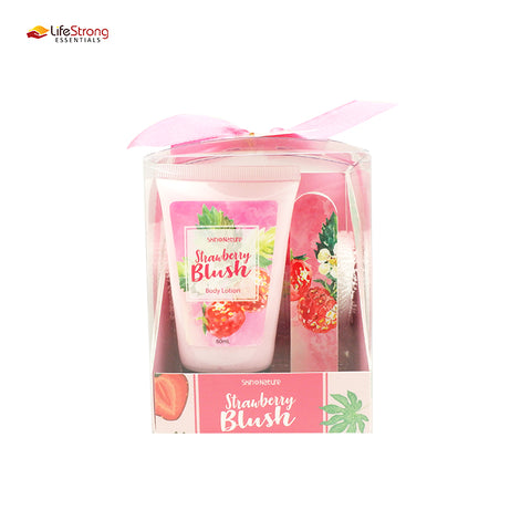 Skin Nature Strawberry Blush Gift Set (with Nail File)