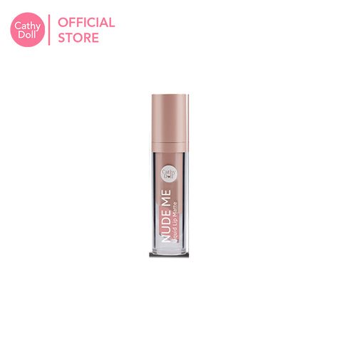Cathy Doll Nude Me Liquid Lip Matte 4ml - 04 Rose Bloom
