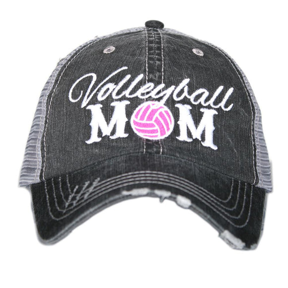 Volleyball Mom Vintage Hat