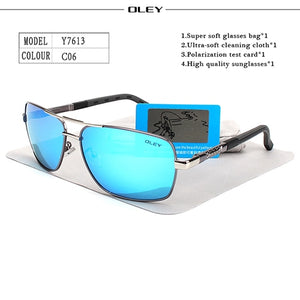 OLEY Polarized Men's Sun Glasse