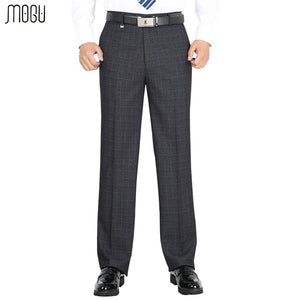 MOGU Men's Thick Suit Pants