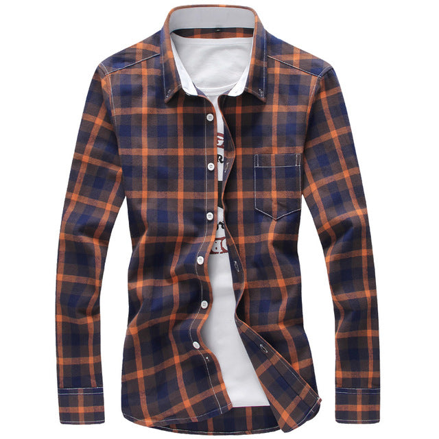 Fashion Button Down Long Sleeve Casual Shirt