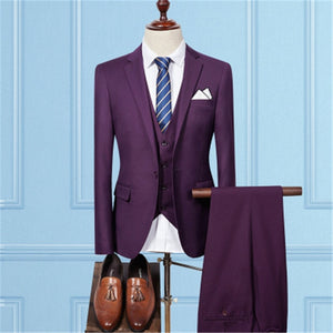 Fashion Men's Business Suits