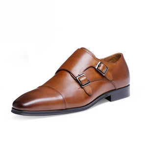 Men's Pointed Toe Oxfords Genuine Leather