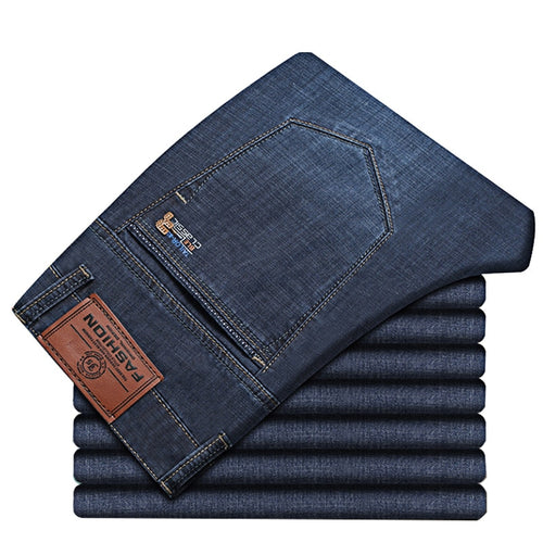 Men Summer Trendy Stretch Designer Denim