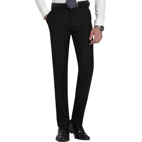Men's Slim Fit Flat-Front Suit