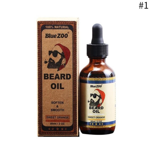 Blue Zoo 100% Organic Beard Oil