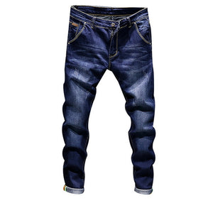 Straight Dark Blue Fashion Skinny Jean