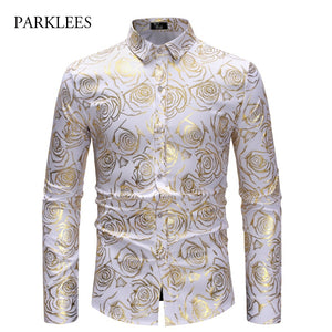 Men's Fashion Nightclub Shirt