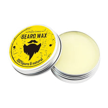 Men's Beard Styling Beeswax