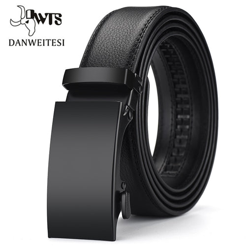 DWTS Leather Belt Men's Luxury Belt