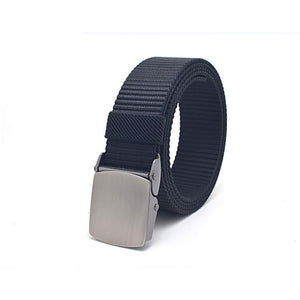 Mens Breathable Automatic Buckle Belt
