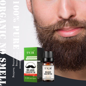 Thick Beard Growth Serum Facial Hair Growth Essence Mustache Growth Liquid Fast Hair Growth Treatment