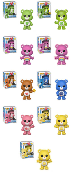Care Bears Pop! Animation-Full Case/Wave Bundle-With Chase and Exclusive-Preorder-Due in April