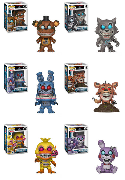 Five Nights at Freddys Pop! Books Full Case/Wave Bundle-Preorder-Due in April!
