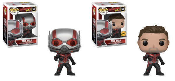 Ant-Man & The Wasp Ant-Man Pop! Vinyl Figure #340 W/Chase Bundle-Preorder-Due in July
