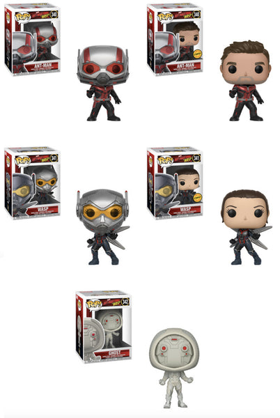 Ant-Man and the Wasp Pop! Marvel-Full Wave/case Bundle-Preorder-Due in July