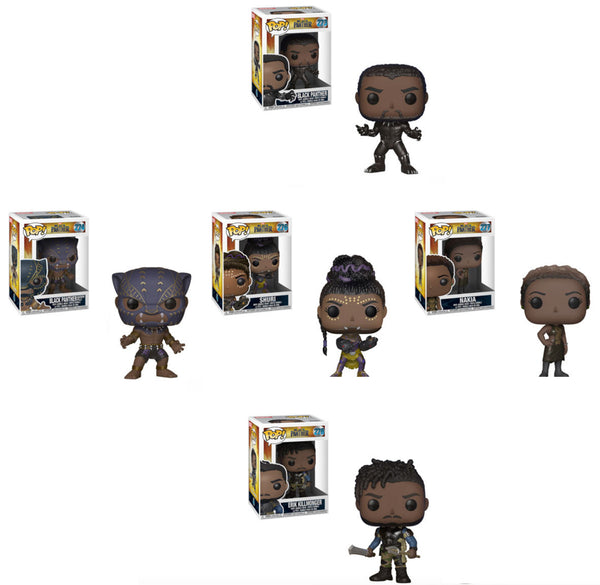 Pop! Marvel: Black Panther Full Case/Wave Bundle-No Chases-In Stock