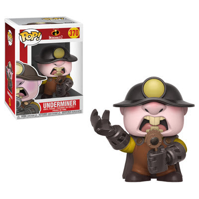 Incredibles 2 Underminer Pop! Vinyl Figure #370-Preorder-Due in May