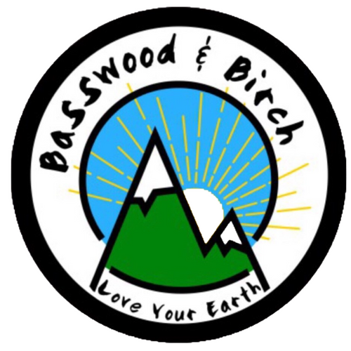 Basswood and Birch Sticker