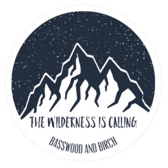 The Wilderness Is Calling Sticker