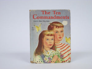 The Ten Commandments Elf Book by Mary Alice Jones (1952)